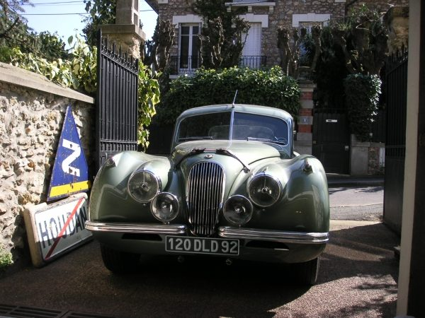 Jaguar coupé XK 120